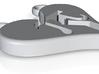 Pi Bond Pendant (Couple) 3d printed