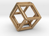 Rhombic Dodecahedron Pendant 3d printed
