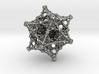 Pendant - Kaleidoscopic Fractal Virus 3d printed