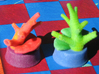 Sea Chess Pieces - Small 3d printed Rook/coral