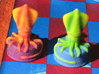 Sea Chess Pieces - Small 3d printed Bishop/squid