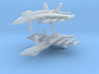 1/285 F-18C Hornet (Anti-Ship Loadout) (x2) 3d printed 1/285 F-18C Hornet (Anti-Ship Loadout) (x2)