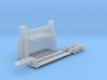 N Scale Car Crusher PLUS Trailer 3d printed