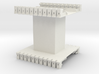 AMCC10 c-core bobbin - single chamber 3d printed