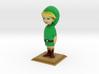Link Statue from Zelda Majora's Mask 3d printed