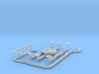 1/64th scale Sprinkler Water Tanker Accessory pack 3d printed