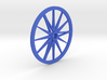 Needle-Fly 8L :: Large Robot Wheel for 8mm nuts 3d printed NeedleFly 8L