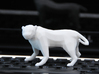 Low Poly Panther [4,5cm Tall] 3d printed
