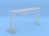 Catenary (5 set) Dutch style 3 track (1:160) 3d printed