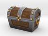 Miniature Ancient Treasure Chest  3d printed