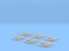 "Kushan ""Resolute"" Minelayer Corvettes (6) 3d printed"