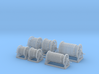 1/64th Hose Reel Builders Pack Set 3d printed