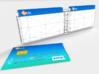 Swivel 4x Individual Credit Card Book 3d printed