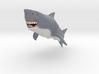 Shark With Human Teeth 3d printed