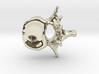 Anatomical Lumbar Vertebra Pendant 3d printed