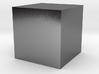 Precious metal cube 3d printed