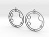 Autumn - Earrings - Series 1 3d printed
