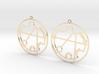 Christina - Earrings - Series 1 3d printed