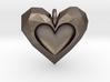 Heart Pendant V2 3d printed