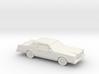 1/87 1980 Lincoln Mark VI 3d printed
