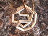 Dodecahedron Cycle Pendant 3d printed