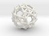 Snub Dodecahedron (right-handed) 3d printed