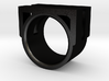 SQUARE RING SIZE 7 3d printed