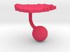 Zimbabwe Terrain Cufflink - Ball 3d printed