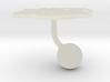 South Africa Terrain Cufflink - Ball 3d printed