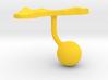 Guam Terrain Cufflink - Ball 3d printed