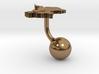 Guyana Terrain Cufflink - Ball 3d printed