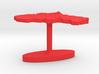 Slovakia Terrain Cufflink - Flat 3d printed