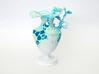 Floralia blue 3d printed