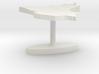 Iraq Terrain Cufflink - Flat 3d printed