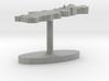 Portugal Terrain Cufflink - Flat 3d printed