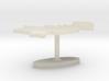 Pakistan Terrain Cufflink - Flat 3d printed