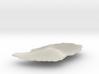 Grenada Terrain Silver Pendant 3d printed