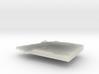 Equatorial Guinea Terrain Silver Pendant 3d printed