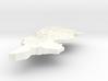Tunisia Terrain Silver Pendant 3d printed