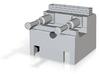 N Gauge Hydraulic Buffer Stop 3d printed