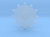 Snowflake Earring 3d printed