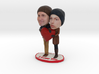 Valentine's Day CUSTOM Figurines - 3d Your Love 3d printed