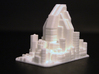 Futuristic city concept 2 - City of Minerva 3d printed Futuristic city concept 2 - City of Minerva printed in WSF Polished