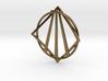 Awen Bard Pendant 3d printed