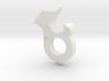 Bear Claw Keychain 3d printed