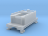 Small 8 wheel Tender for HOn30 F&C loco (no trucks 3d printed