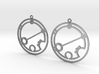 Brieanna - Earrings - Series 1 3d printed