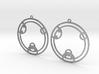 Zoey - Earrings - Series 1 3d printed