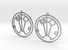 Sophie - Earrings - Series 1 3d printed