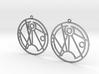 Sofia - Earrings - Series 1 3d printed